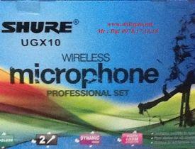 Microphone Shure UGX-10