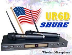 Microphone Shure UR6D