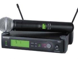 Microphone Shure SLX4