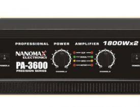 Nanomax PA-3600