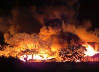Cháy lớn nhiều giờ tại khu công nghiệp ở Hải Phòng