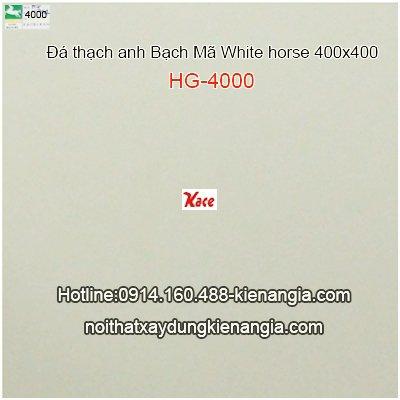 Đá thạch anh Bạch mã 400x400 HG4000