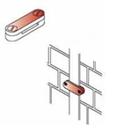 Kẹp thanh nhôm/thanh đồng 2/4 ngã cho hệ thống chống sét (2 / 4 vít)