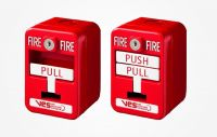 Nút ấn báo cháy thông thường