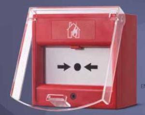 Nút nhấn khẩn bể kính ( có nắp đậy ) Horing AH-0217