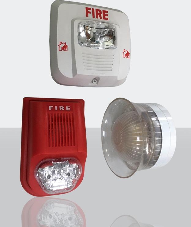 Còi đèn báo cháy kết hợp Multron