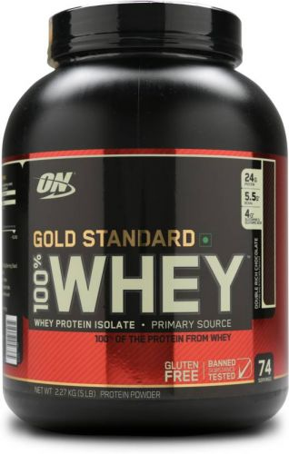 WHEY GOLD 5LBS - CHOCOLATE