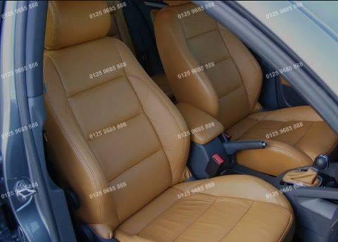Bọc nệm ghế da xe Hyundai Tuscani
