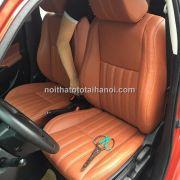 Bọc ghế da xe Suzuki Swift mẫu da công nghiệp 1