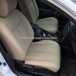 Bọc ghế da xe Nissan Livina