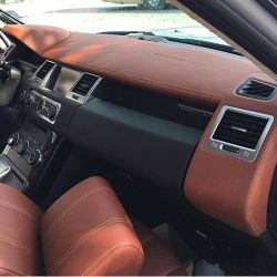 Bọc Taplo Da Xe Land Rover