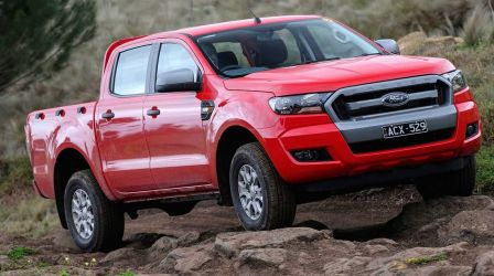 2016 Ford Ranger Test