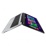 "ASUS TP550LD-CJ083H( Đen, võ nhôm) - I3(4030U)/ 4GB/ 500GB/ VGA 2Gb/ 15.6""/ Win 8/ Touch"