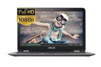 """ASUS TP501UA- DN094T ( Xám) – I3(6100U)/ 4GB/ 500GB/ 15.6"""" + Touch/ Win 10"""