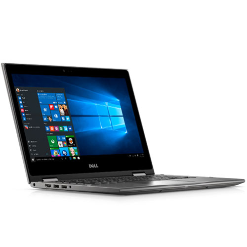 "DELL INSPIRON 5378-C3TI7010W (Grey)  – I7(7500U)/ 8G/ 1TB/ No DVD/ 13.3"" Flip/ Led Key/ Touch / Win 10 + office 365"