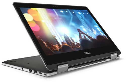 """DELL INSPIRON  N7373-C3TI501OW I5(8250U)/ 8G/ SSD 256G/ No DVD 13.3"""" FHD/Led KB / Touch/ Win10 + Office 365 (Grey)"""