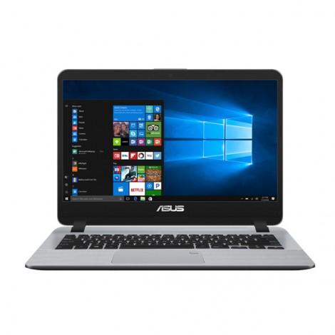 """ASUS X407MA-BV085T N4000U/ 4GB/ 1TB/ 14""""/ Win 10/ Xám, nhựa"""