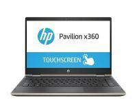 "HP PAVILION X360-14-CD0084TU I5(8250U)/ 4GB/ 1TB/ 14"" HD/ Win 10 + Touch/ Gold, Nhựa"
