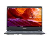 """ASUS X507MA-BR318T N4000U/ 4GB/ SSD 256GB/ 15.6""""/ Win 10/ Xám, nhựa"""