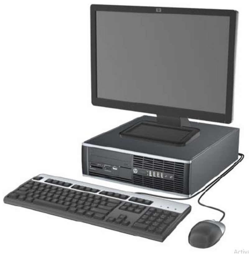 PC HP COMPAQ 6200SFF I5-2400 (6M, upto 3,4Ghz)/ 4GB/ SSD 120GB/ Dos