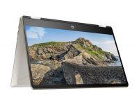 """HP PAVILION X360-14-DH0103TU I3(8145U)/ 4GB/ 1TB/ 14"""" FHD/ Win 10 + Touch + Bút/ Gold, nhựa"""