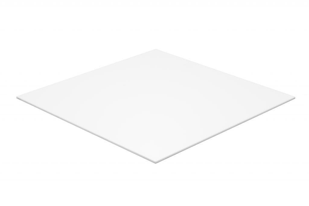 Tấm lợp polycarbonate màu trắng sữa đặc ruột