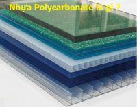 Nhựa Polycarbonate là gì ? Nó có tốt hay không ?