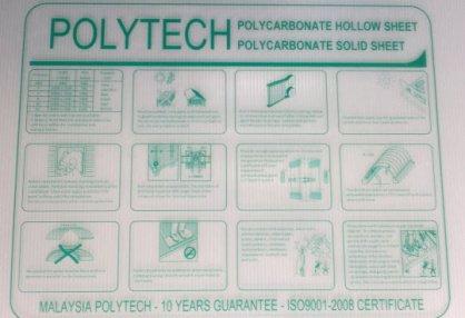 Tấm Polytech rỗng ruột (Malaysia)