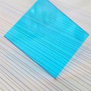 Polycarbonare blue green đặc ruột loại tấm lợp phổ biến