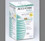 Que thử đường huyết Accuchek Active (lọ 25 que)