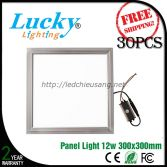 Đèn LED downlight tấm panel 12W 300x300mm
