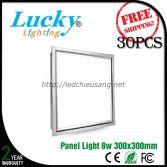 Đèn LED downlight tấm panel 8W 300x300mm
