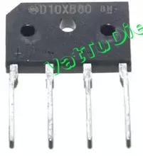 D10XB80 Cầu Diode dẹt 10A 800V