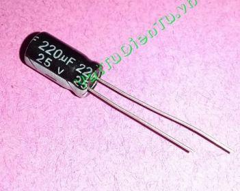 CAPP-220uF25V