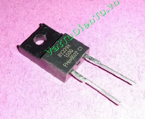 BY329X-1500S BY329X TO220 Damper diode fast, high-voltage 6A 1500V