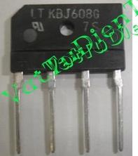 KBJ608G 6A 800V