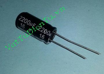 CAPP-2200uF16V
