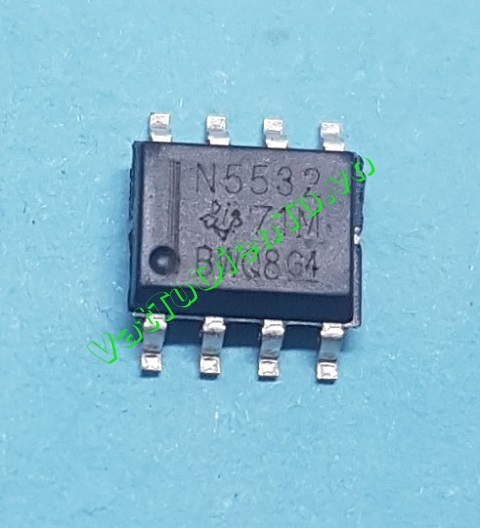 N5532 NE5532DR N5532 SOP8 Ic thuật toán Dual Low-Noise Operational Amplifier