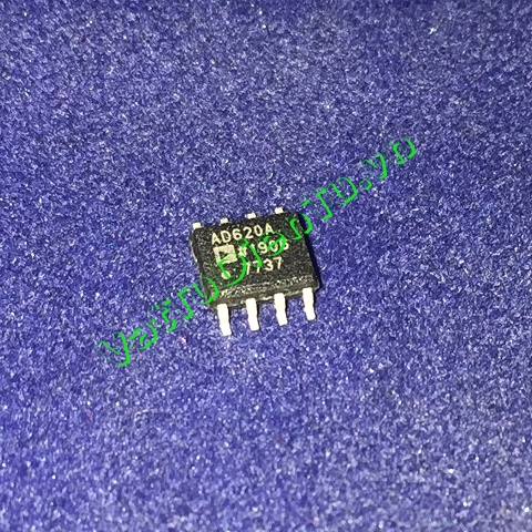 AD620 AD620A AD620AR AD620ARZ SOP8 IC Analog, Low Cost, Low Power Instrumentation Amplifier (NK)
