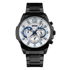 Đồng hồ nam SKMEI dây thép không gỉ TASK097 (mặt trắng)