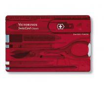 Dụng cụ đa năng Victorinox Swiss card màu đỏ, 0.7100.T