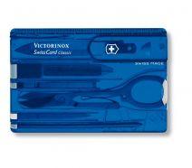 Dụng cụ đa năng Victorinox Swisscard màu xanh dương, 0.7122.T2