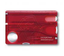 Dụng cụ đa năng Victorinox Swisscard Nailcare màu đỏ, 0.7240.T