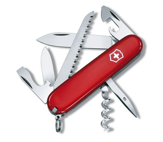 Dụng cụ xếp đa năng hiệu Victorinox Camper màu đỏ, 1.3613