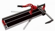 Máy cắt gạch đẩy tay dài 1200mm 2 ray màu cam Shijing B02-1200