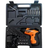 Bộ khoan bắt vít dùng pin 45 chi tiết DC Tools D003C-4.8V