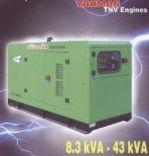 Máy phát điện  Hữu Toàn HT5I10 (Power by IVECO)