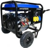 Máy phát điện chạy xăng Hyundai  HY9000Lek-6,6kW-Máy phát điện chạy bằng điện