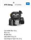 Động cơ Kohler XTX950