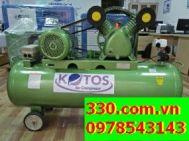 máy nén khí kotos  Model: HD- V-0.17/8- 100L